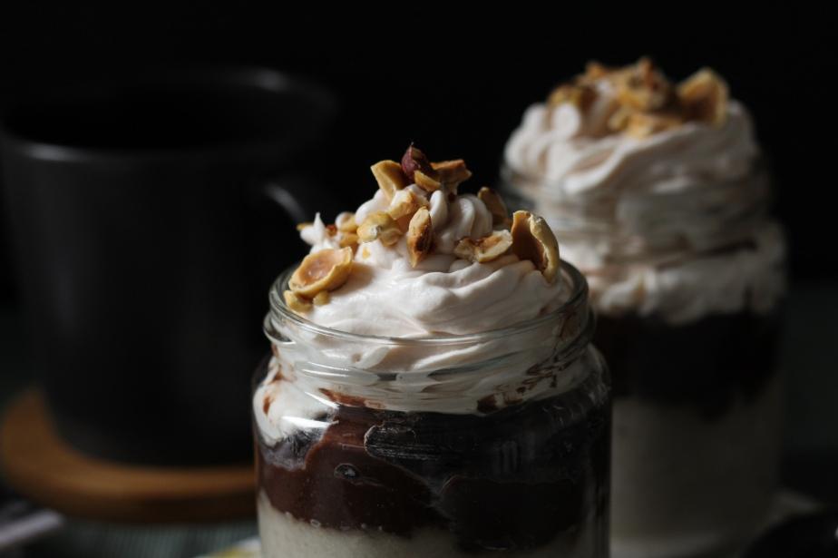 Vegan Chocolate Banana Pudding